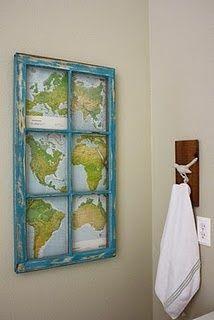 frame a map!